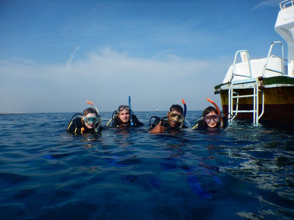 Seagate Hurghada Diving - Red Sea - Egypt - family diving