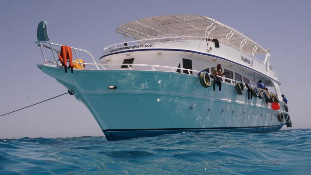 Seagate Hurghada Diving - Red Sea - Egypt - daily diving - Boat